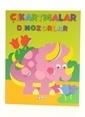 Çiçek Yayıncılık Kolay Çıkartmalar-Dinozorlar-2 Renkli